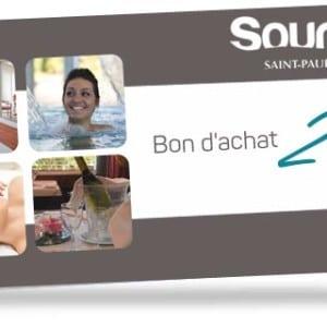 Bon d'achat de 20 euros valable à l'espace aqualudique Sourcéo de Saint-Paul-lès-Dax
