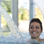 Photo illustrant l'espace aquatique Sourcéo de Saint-Paul-lès-Dax, espace de remise en forme aquatique