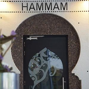 Photo illustrant le Hammam Privatif, proposé dans notre Spa, intégré au complexe Sourcéo de Saint-Paul-lès-Dax