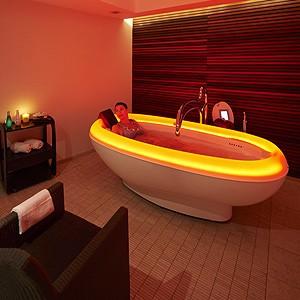 Photo illustrant le soin Luminobain, proposé dans notre Spa, intégré au complexe Sourcéo de Saint-Paul-lès-Dax
