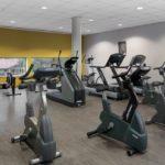 Salle de cardio-training de l'espace aqualudique Sourcéo de Saint-Paul-lès-Dax