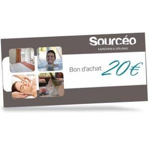 Bon achat Sourcéo : 20€