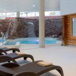 Photo de l'entrée du sauna de notre spa Sourcéo de Saint-Paul-lès-Dax