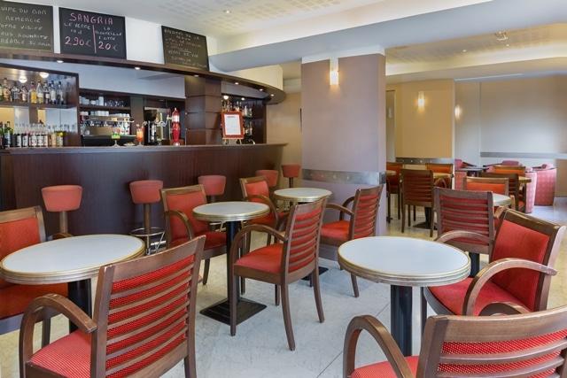 Photo du bar du Grand Hôtel, intégré aux Thermes du Grand Hôtel de Dax