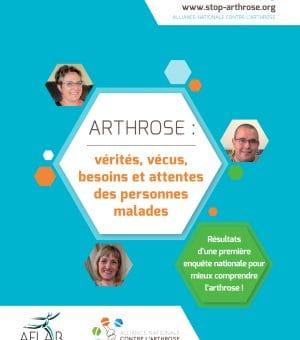 ARTHROSE : vérités, vécus, besoins et attentes des personnes malades