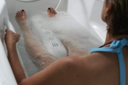 Soin bain carbogazeux