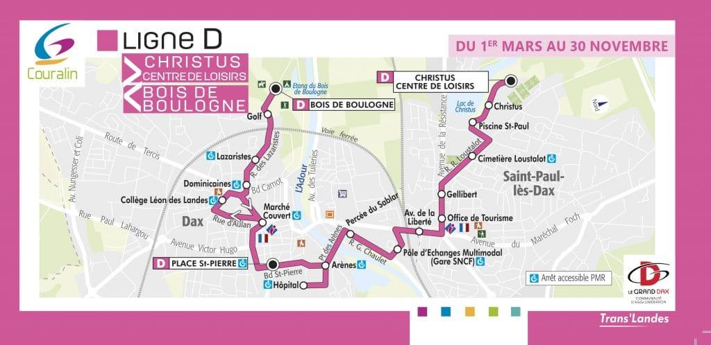 Couralin Bus Ligne D