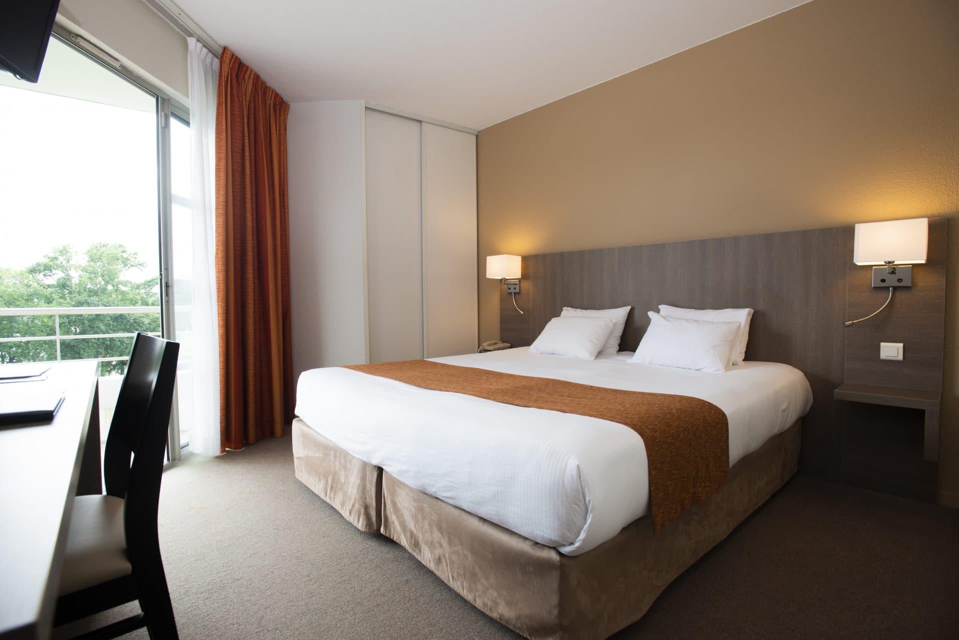 Chambre du Best Western Hôtel Sourcéo - Saint Paul Lès Dax