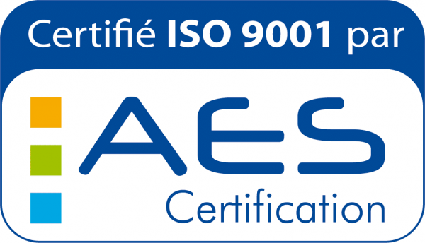Logo certifié ISO-9001 AES