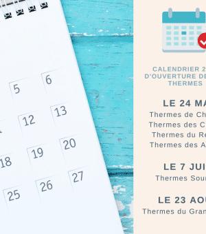 DATES D'OUVERTURE