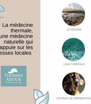 MEDECINE THERMALE : UNE MEDECINE ISSUE DE LA NATURE